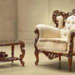 Шикарное кресло, созданное из дерева