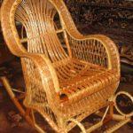 Шикарное лозовое кресло для дома