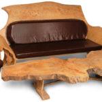 Шикарные и необычные кресла из ясеня