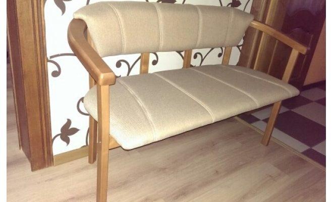 Широкое кресло на основе березы