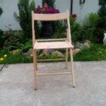 Садовое кресло, созданное на основе бука