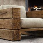 Самостоятельно созданное деревянное кресло