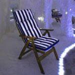 Складное кресло из сосны