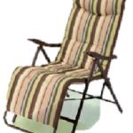 Складное кресло на основе металла