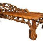 Современная мебель, созданная из коряги
