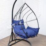 Современное кресло из металла
