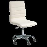 Современное кресло в белых тонах