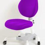 Современное пурпурное кресло