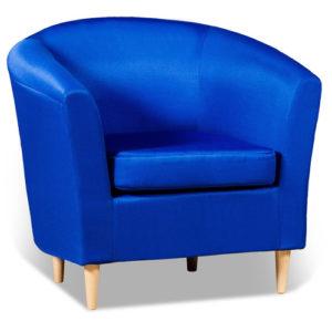 Современное синее кресло для дома
