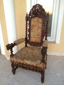 Современное стильное будовое кресло