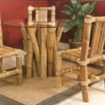 Современные кресла из бамбука