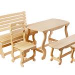 Современные кресла из липы