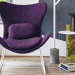 Пурпурные кресла для дома