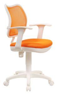 Современный дизайн оранжевого кресла