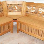 Созданное кресло на основе березы