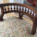 Спинка кресла на основе ореха