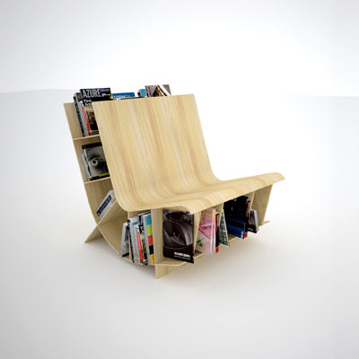 Способы изготовления кресел из книг