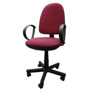 Стильное бордовое кресло