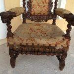 Стильное дубовое кресло для дома