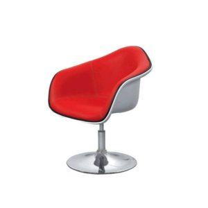 Стильное красное яркое кресло для дома
