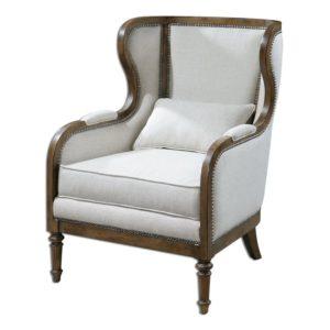 Стильное кресло на основе сосны