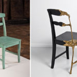Стильные бронзовые кресла для дома