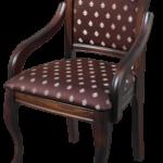 Темное кресло на основе бука