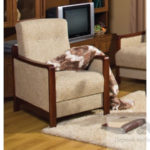 Удобное кресло для отдыха на основе ольхи