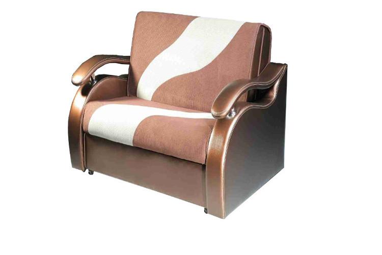 Удобное кресло, созданное из бруса