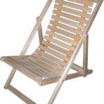 Удобное липовое кресло