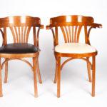 Удобное современное кресло из ольхи