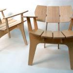 Удобные кресла из ламината