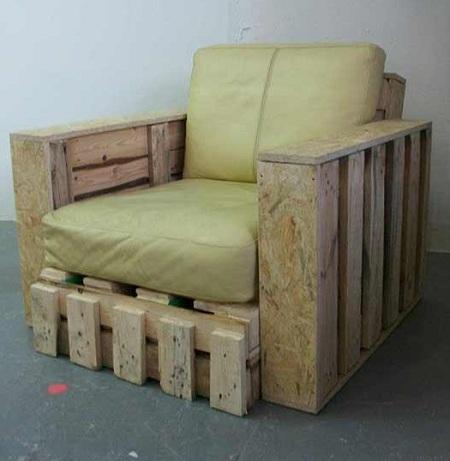 Удобные кресла из поддонов