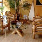 Вариант интерьера из бамбука