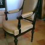 Вариант красивого кресла из ореха