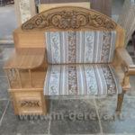 Вариант шикарного кресла из лиственницы