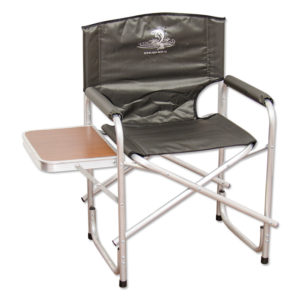 Вариант складного кресла, созданного из алюминия