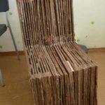 Особенности изготовления кресла из картона своими руками