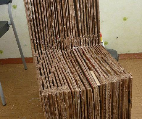 Выбираем кресла из картона