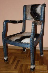 Выбираем кресло на основе дуба