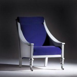 Выбираем кресло, выполненное в синем цвете