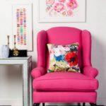 Кресла малинового цвета