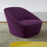 Замечательное фиолетовое кресло
