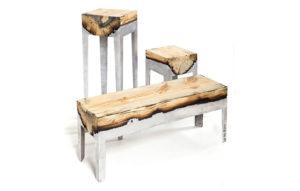 кресло из алюминия