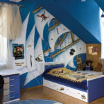 На дне океана: морская тематика в доме
