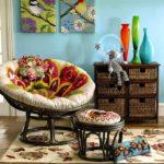 Кресло Папасан – украшаем ваш сад