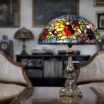 Лампы «Тиффани» в дизайне интерьера