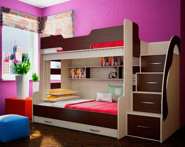 Двухъярусная-кровать-для-детей-40