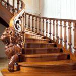 Как придать деревянной лестнице уникальный вид