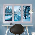 Фальш окно в дизайне интерьера: советы по оформлению